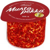Valio Mustapekka siers ar čili, 100g