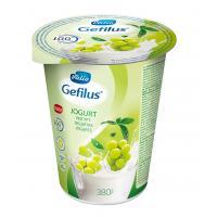 Valio Gefilus jogurts ar vīnogām un zaļās tējas ekstraktu 2% 380g