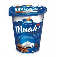 Alma Muah! Saldkrējuma jogurts ar rupjmaizes-kanēļa piedevu 6,5% 380g