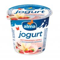 Alma jogurts ar meža zemenēm un vaniļu 2% 150g