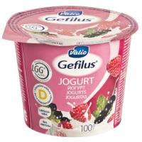Valio Gefilus jogurts ar avenēm un upenēm 2,5% 100g
